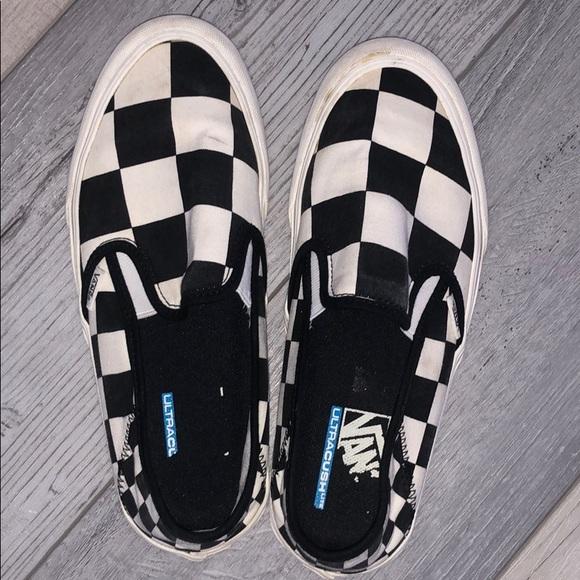 Vans Shoes | Vans Big Checkered Slip